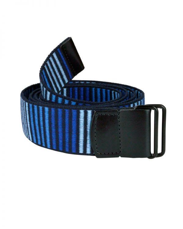 5D Woven Vegan Belt Blue