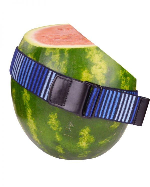 5D Blue Stripes Woven Belt