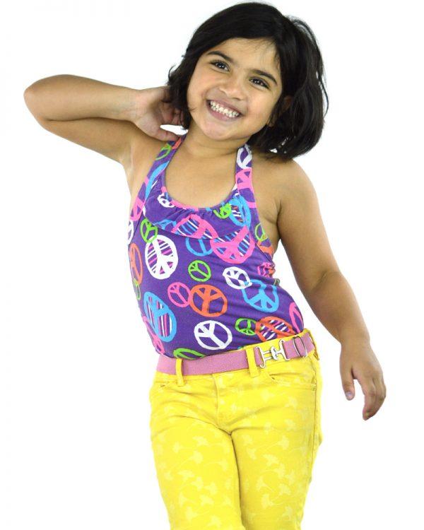 Ariel Pink Kids Belt