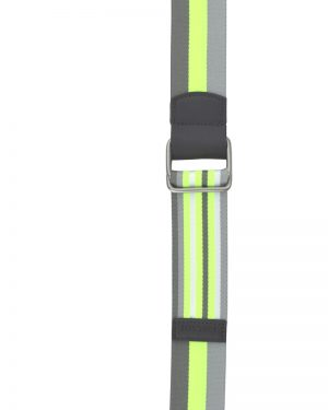 Justice Yellow Stripes Reversible Belt