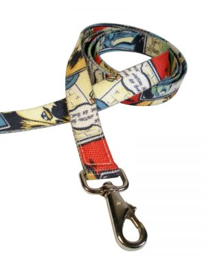 Duke Dog Leash Bright Comic