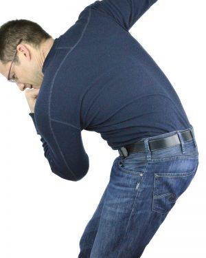 Fergus Mens Vegan Belt With Jeans