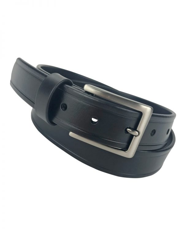 Holy Cow Black Semi Gloss Vegan Belt