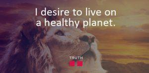 I Desire a Healthy Planet