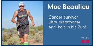 Here is the incredible story of vegan Moe Beaulieu