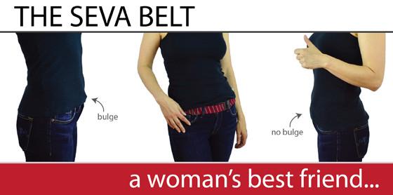 SEVA Flast Elastic Belt for Vegans