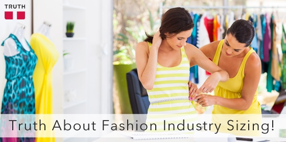 The Truth About Fashion Industry Sizing