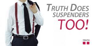 Vegan Suspenders by Truth Belts