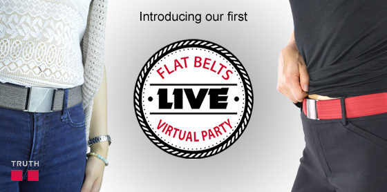 Truthe Belts Live Virtual Party