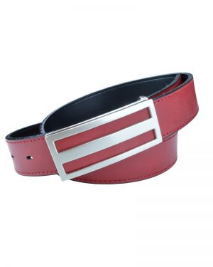 Albedo Red Vegan Belt