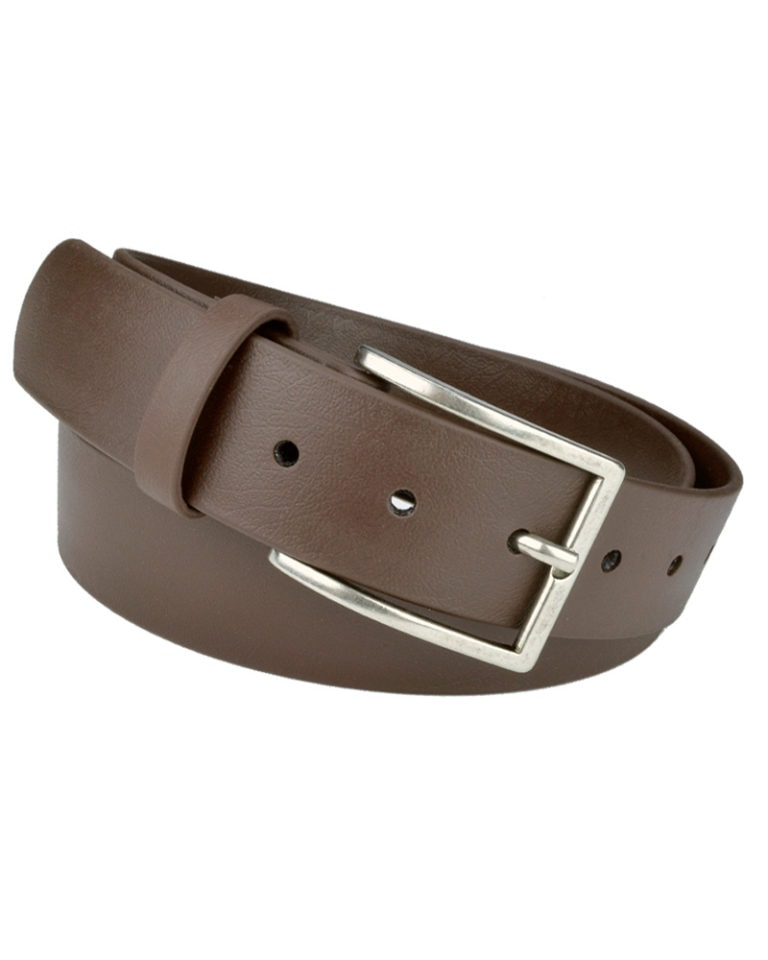 SLUG Mens Vegan Belt Brown