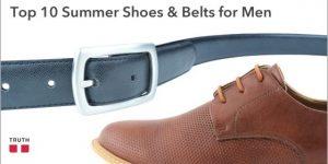 Top 10 Stylish Vegan Shoes & Belts for Men for Summer